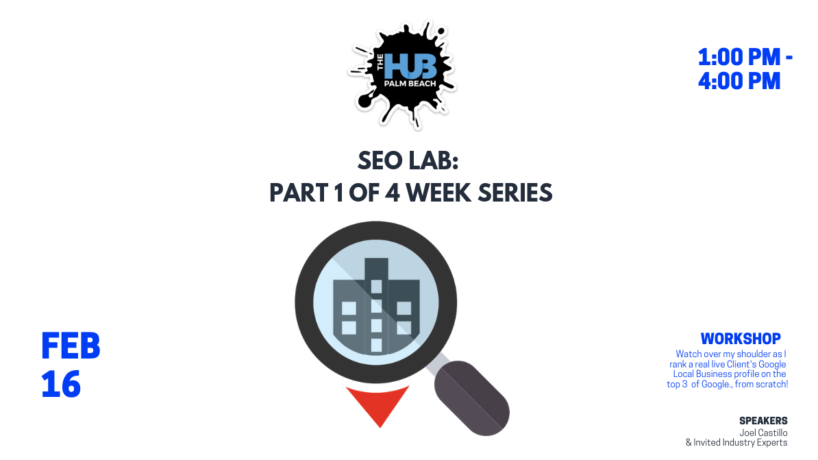 SEO Lab: Part 3 of 4 Week Series