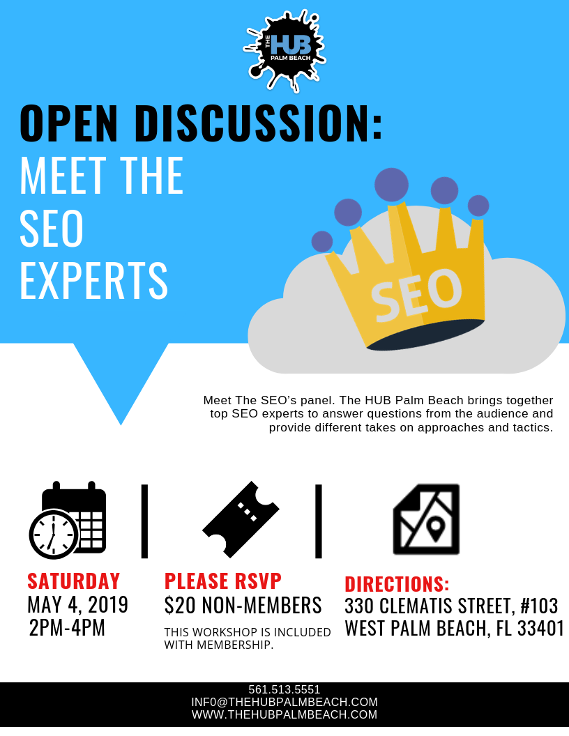 Open Discussion: Meet The SEO Experts