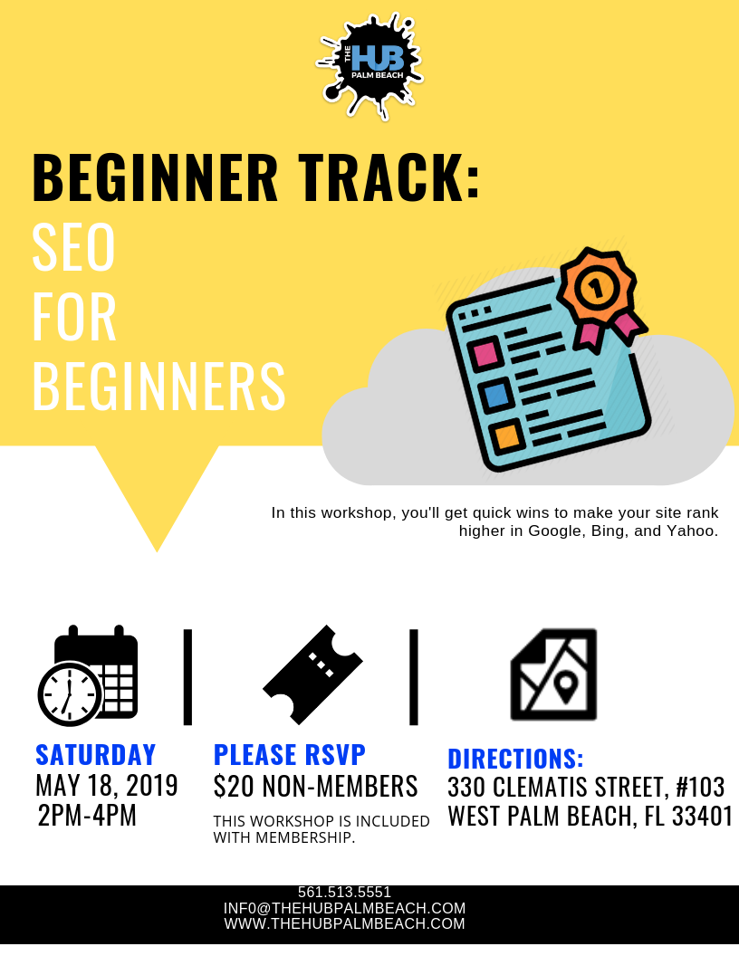 Beginners Track: SEO for beginners