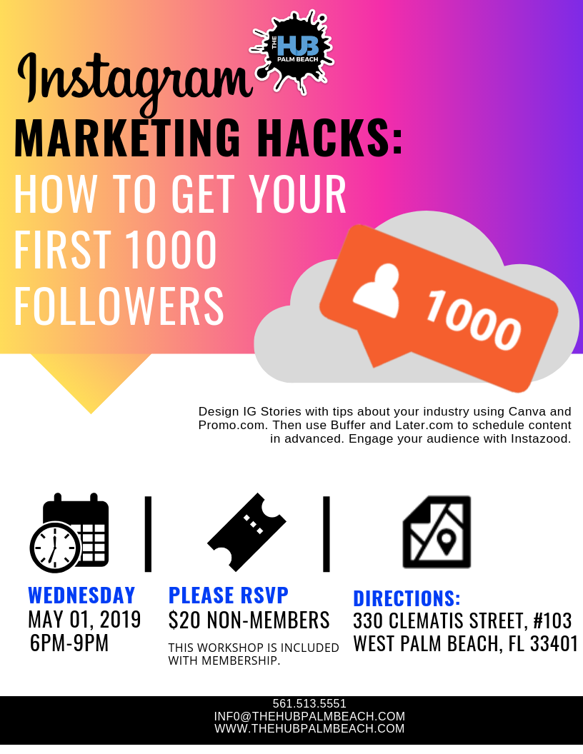 INSTAGRAM MARKETING: How to get your first 1000 Followers