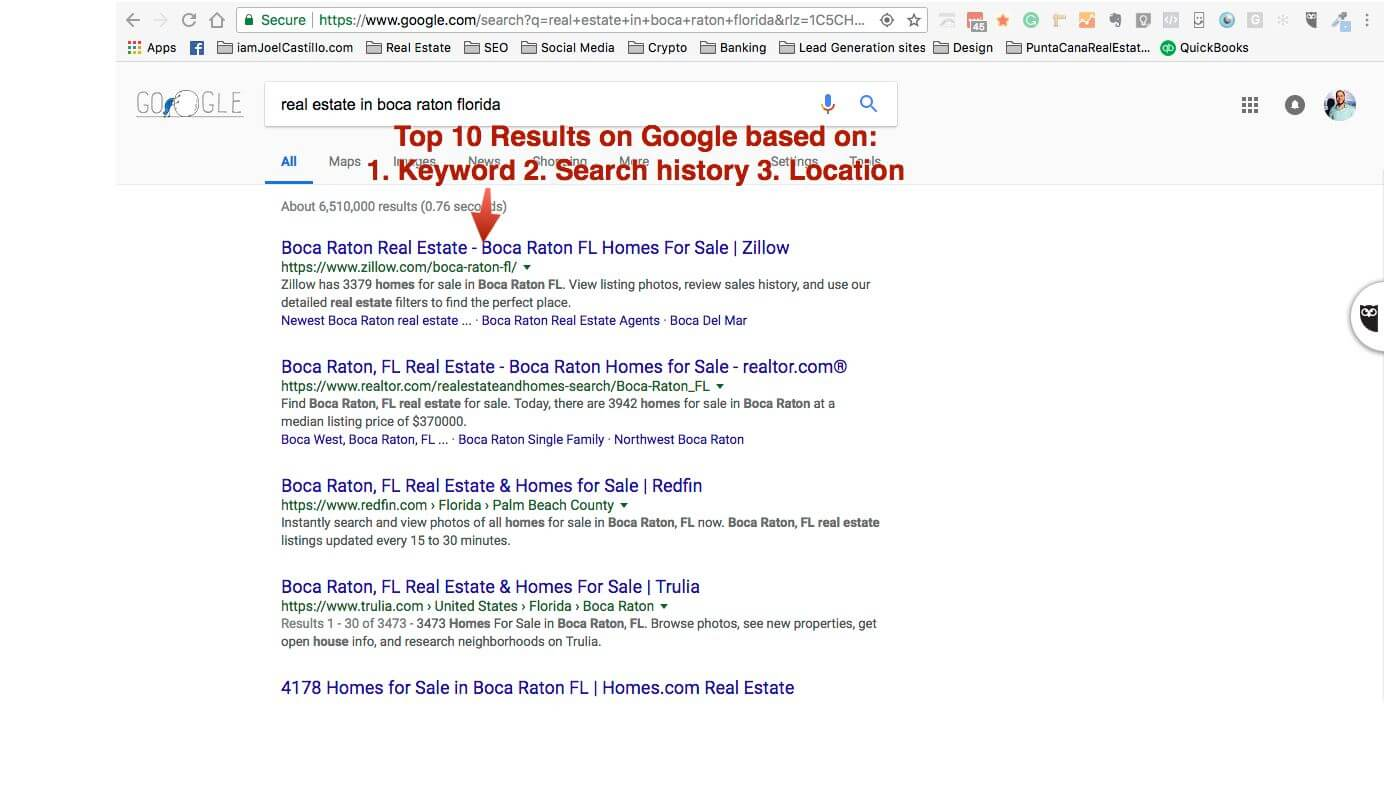 Search Engine Results For Searcher