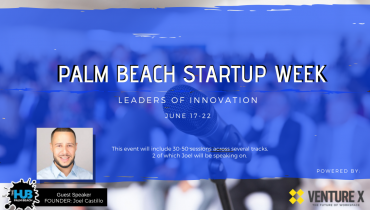 PALM BEACH STARTUP WEEK: LEADERS OF INNOVATION