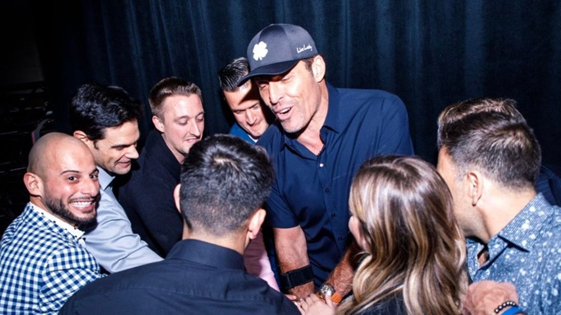 PEAK PERFORMANCE SEMINAR Brought to you by Tony Robbins