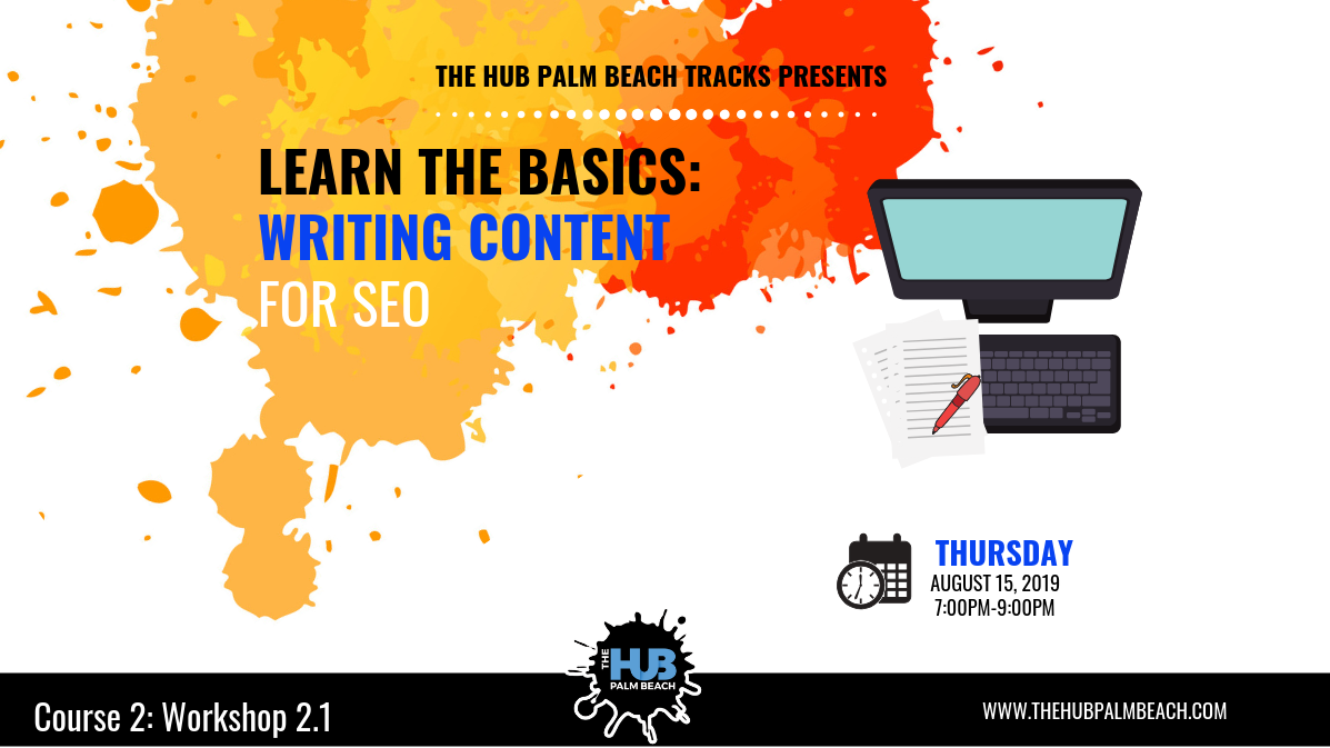LEARN THE BASICS: Writing Content for SEO