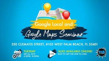 Ranking on Google Local and Google Maps Seminar